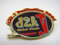 2001 Collectible Pin: d2k.1 Destination Imagination Global Finds