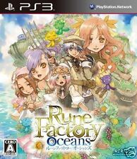 Used PS3 Rune Factory Oceans PLAYSTATION 3 SONY JAPAN JAPANESE IMPORT