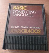 Basic Computing Language Atari CXL4002 Left Cartridge Only