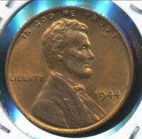 United States, 1944 Lincoln Cent, Wheat Reverse - Uncirculated