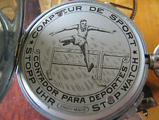 Rare Simplon football stopwatch from 20/30 years of XXc,very collectible