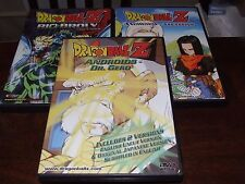 Lot of 3 Dragonball Z DVDs Androids Dr gero assassins bio broly uncut movie