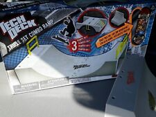 SPINMASTER TECH DECK TRIPLE COMBO RAMP BOXED. (READ LISTING)