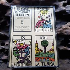 Vintage Tarot Le Nuove Minchiate Di Firenze Limited Edition 118 / 1500 Solleone