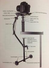 Camera Motion Research Blackbird Camera Stabilizer Gimbel in case (mint & rare)