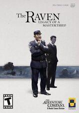 The Raven Legacy of a Master Thief Adventure PC/Mac Game Windows XP/Vista/7 NEW