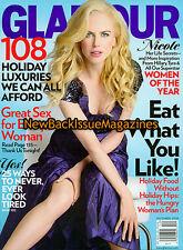 Glamour 12/08,Nicole Kidman,Tyra Banks,December 2008,NEW