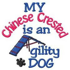 My Chinese Crested is An Agility Dog Fleece Jacket - Dc2000L Size S - Xxl
