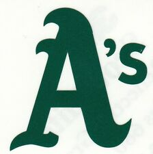 REFLECTIVE Oakland Athletics A's 2 inch fire helmet decal sticker yeti window