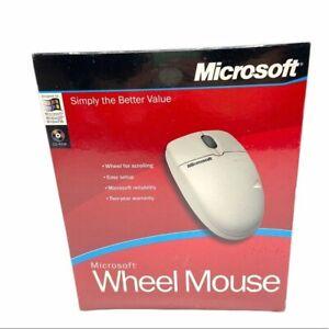 Microsoft Wheel Mouse Sealed in Original Box