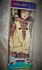 Ashley belle porcelain keepsakes fine bisque porcelain doll limited edition