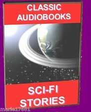 17 CLASSIC SCIENCE-FICTION  MP3 AUDIOBOOK STORIES UNABRIDGED ON PC DVD NEW SCIFI