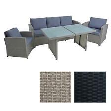 Polyrattan Sitzgruppe Gartenmöbel Set Rattanlounge Lounge Set Essgruppe Rattan