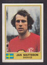 Panini - Euro Football 76/77 - # 280 Jan Mattsson - Sverige