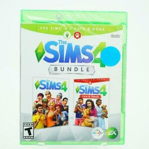 Sims 4 Plus Cats & Dogs Bundle: Xbox One [Brand New]