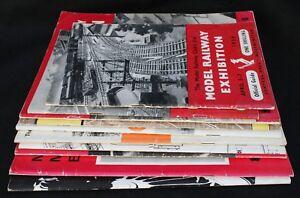 Model Railway Club Model Railway Exhibition Guides x 10 1956 - 1974