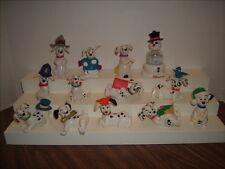 13 Disney 101 Dalmatians Figurines Cake Toppers PVC w/ Moving Parts Snow Globe