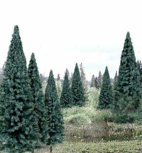 "Woodland Scenics #TR1588 13 Blue Spruce Trees 4-6 "" NO ASSEMBLY~MIB"