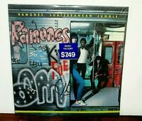 RAMONES SUBTERRANEAN JUNGLE VINYL LP NR MT 1983 SIRE 23800-1 W/LYRIC & SHRINK WR
