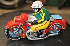 Tin motorcycle toy,vintage,Asahi,Japan,1960's