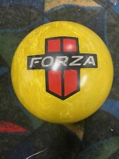 14 Motiv Forza Red Line Bowling Ball, Used,