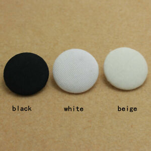 Sewing fabric covered plastic Round Buttons coat sweater diy 10-38mm 100pcs/lots