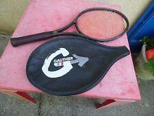raquette de tennis vintage Gauthier GT 80 avec housse