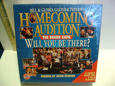 "NEW BILL AND GLORIA GAITHER Homecoming Audition ""Will You be There?"" Board Game"