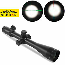 M1 4.5-14X50E Tactical Riflescope Mil-Dot Reticle Green / Red illuminated Scope