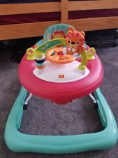 Bright starts  safari baby walker. Unisex colour can be for boy or girl.