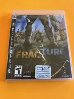 🔥 PS3 PLAYSTATION 3 🔥 💯 COMPLETE WORKING GAME 🔥 FRACTURE 🔥