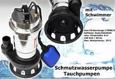 Schmutzwasserpumpe Tauchpumpe mit Schwimmer Wqd10-8-0.55