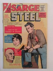 SARGE STEEL 1 - CHARLTON COMICS 1964   CBG 1794