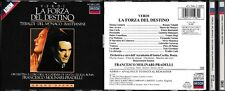 CD- GIUSEPPE VERDI - LA FORZA DEL DESTINO- MOLINARI PRADELLI- SANTA CECILIA--- 2