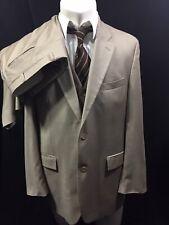 Ralph Lauren Suit 44L two piece Beige Cashmere Blend Mens Reg Fit 34x29