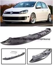 Euro Style Front Bumper Lower Chin Spoiler Lip Kit For 10-14 Volkswagen GTI MK6