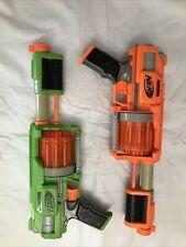 Nerf Dart Tag Guns Lot of 2 Ten Barrel Toy Blaster Guns Tested