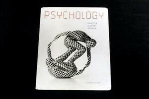 Psychology 2nd Edition Textbook Schacter Gilbert Wegner Worth USED