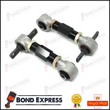 Black Honda Rear Upper Camber Arm Kit - Civic 92-95 EG EK CRX INTEGRA - UK Stock
