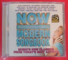 NOW THAT'S WHAT I CALL THE MODERN SONGBOOK by VARIOUS ARTISTS (CD, 2011 - EMI)
