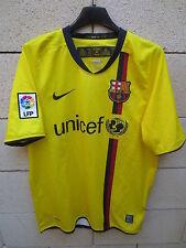 Maillot BARCELONE BARCELONA camiseta NIKE away jaune UNICEF shirt LFP S