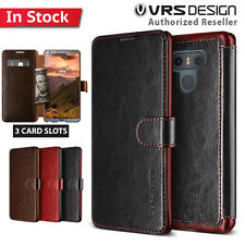 G6 Case Genuine VERUS Dandy Leather Layered Card Slots Wallet Flip Cover For LG