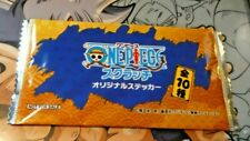 ONE PIECE SCRATCH  CARD JAPANESE PROMO PACK X1 BOOSTER SEALED JAPAN NEUF MINT