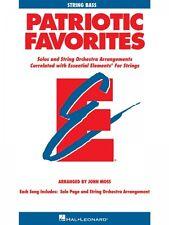 Patriotic Favorites for Strings Essential Elements String Folio New 000868067