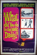 1966 WHAT DID YOU DO IN THE WAR DADDY?~ JAMES COBURN ~MOVIE POSTER 1 SH OR