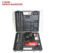 60Pc Mini Drill and Grinder Set Jewellry Engraver Kit Ceramic/Glass/Metal/Wood N