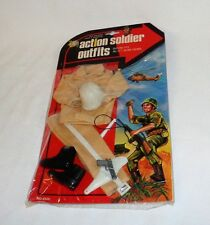 Vintage 1960s Action Soldier Outfit Fits GI Joe Hasbro Doll Army MP Set Sealed