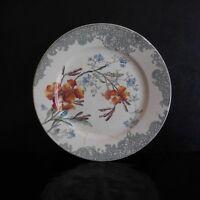 Assiette céramique faïence BOURGEOIS Paris Marseille art nouveau PN France N2978