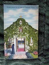 Vintage Postcard Nuestra Senora De La Leche, St Augustine, Florida