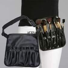 Pro Cosmetic Makeup Brush Apron Artist Belt Strap Holder Bag Case Black KECP